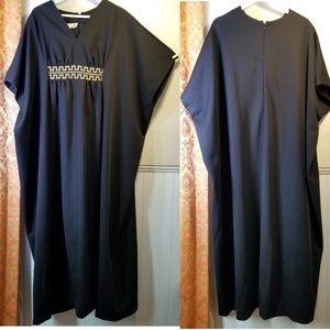 Vintage 70s, Ter-Shé Caftan gown